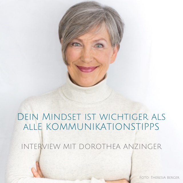 Cover Interview mit Dorothea Anzinger